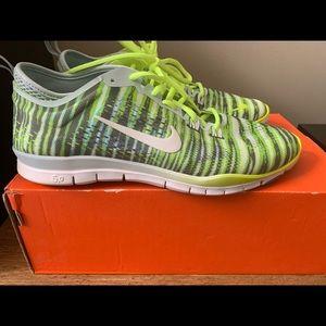 Nike Free 5.0 Antartica Green/White Volt TR FIT